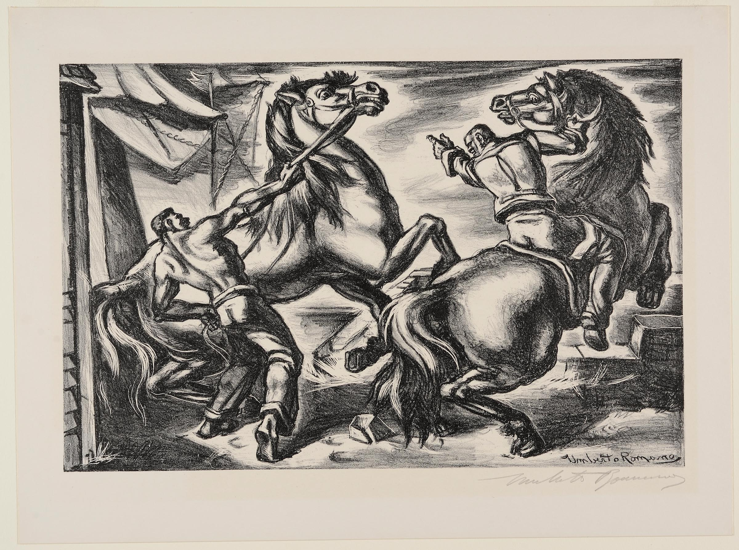 Frightened Horses | CMOA Collection
