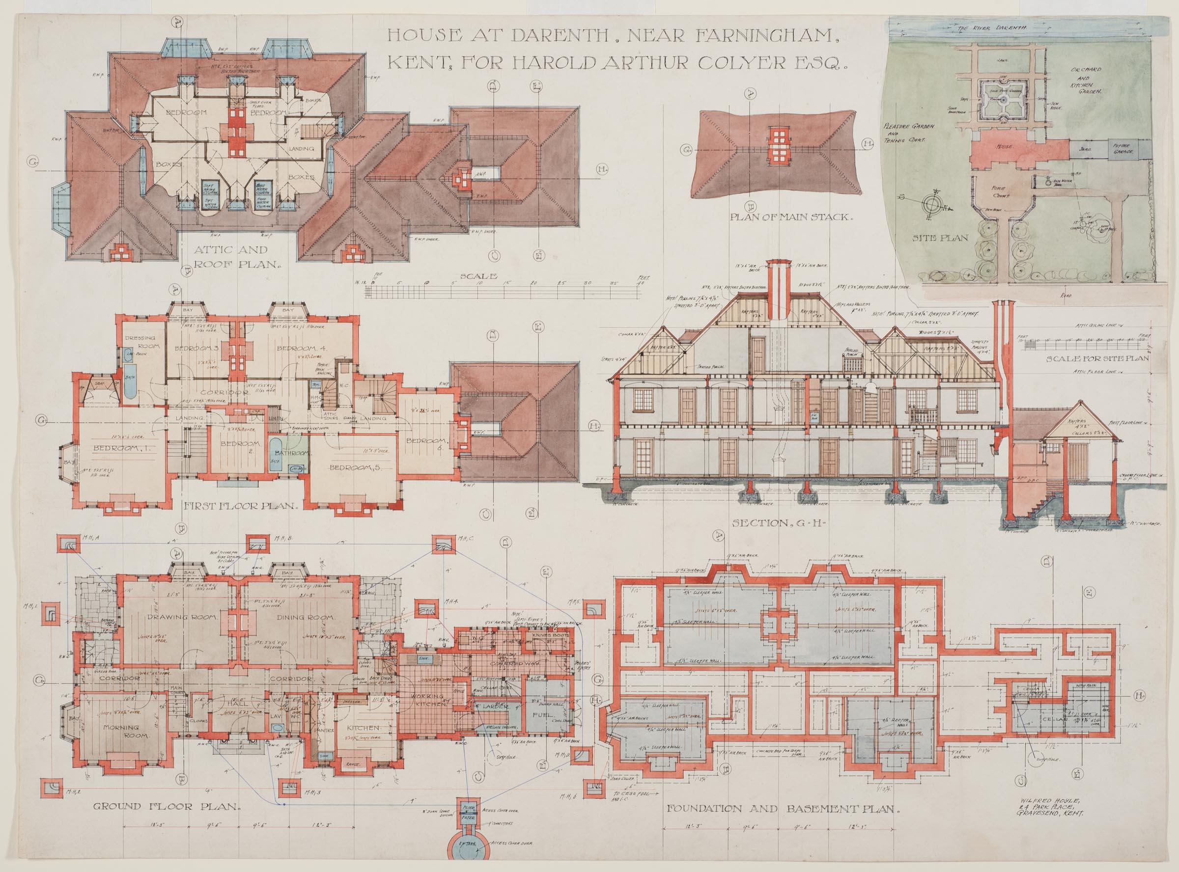 House for Harold Arthur Colyer, Darenth, England